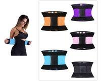 Women Man Fitness Waist Trimmer Postpartum Corset Belt Firm Slimming Belly Sport GYM Waist Trainer Girdles
