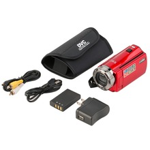Portable Video Camera 720P HD 16MP 16x Zoom 2.7'' TFT LCD Digital Video Camcorder Camera DV DVR Black Red