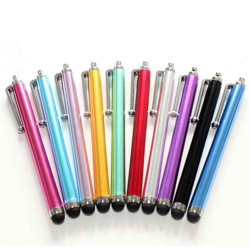 حزم مقابل ضوء الثقيلة الهاتف بالسعة القلم لمس الرسم ل شقة المعادن بخط العالمي قلم شاشة اللمس