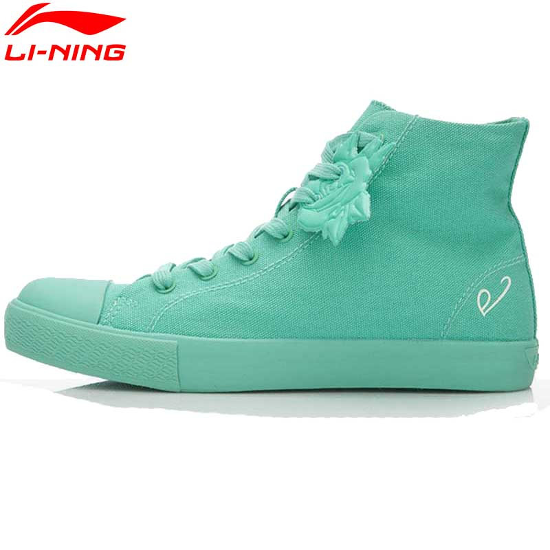 ФОТО Li-Ning Women Shoes Colorful Sports Shoes Sports Life Street Leisure Sneakers Women Running Shoes ALAK126