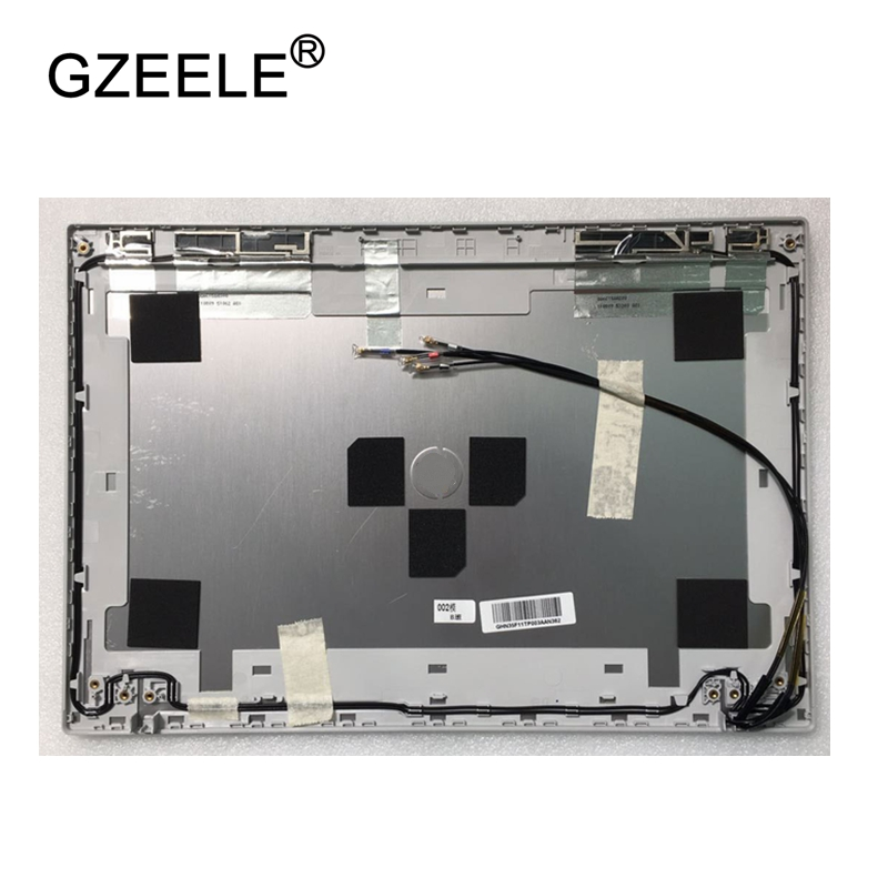 GZEELE new Laptop Top LCD Cover silver for HP 5330M 5330 M5F11TP003 650366-001 LCD Back Cover 13.3'' CASE new cover case for msi ge72 2qd apache pro ms 1792 series lcd back cover black lcd bezel cover not applicable ge72 2qf