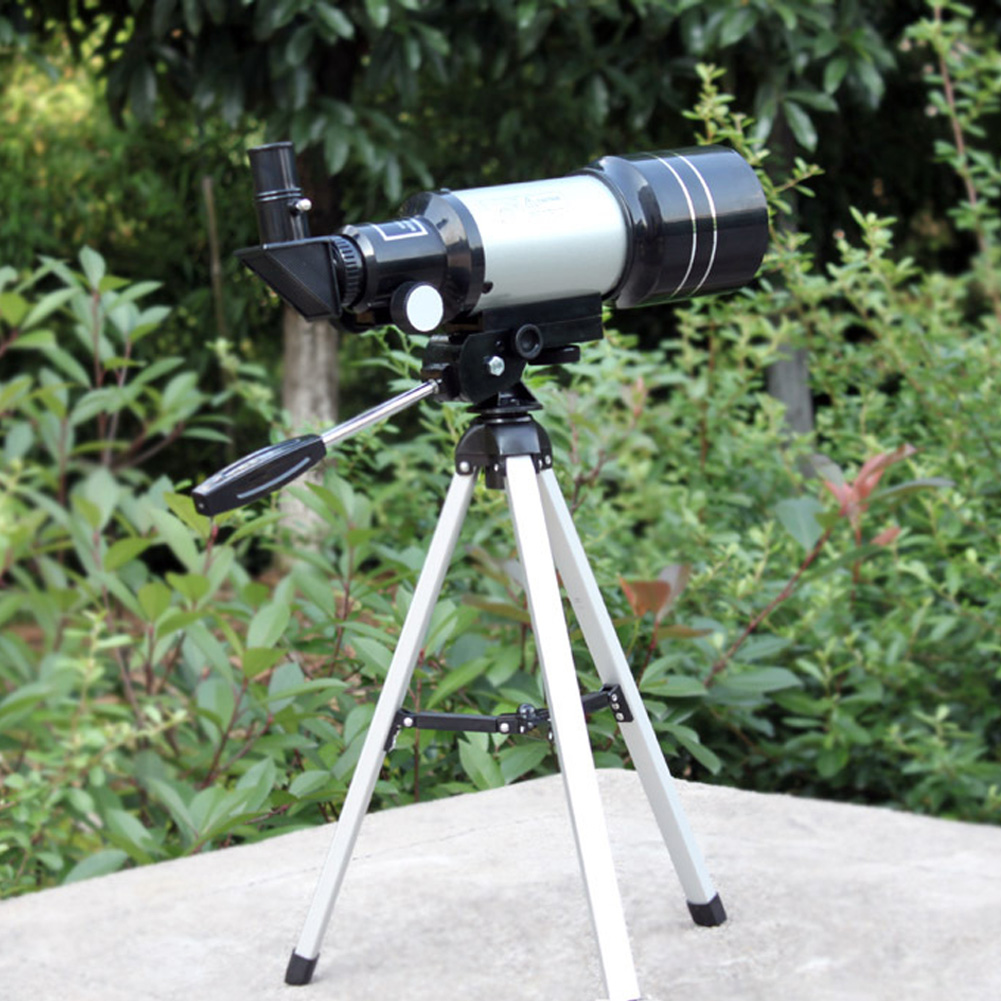 15x-150x High-Powered Magnification HD Telescope Monocular Space Astronomical Observations Spyglass with Adjustable Tripod jiehe high quality cf350 60mm monocular space astronomical telescope with tripod powerful zoom monouclar telescope high times