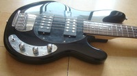 new Music Man StingRay 5 strings Electric Bass sunburst MusicMan Electric Guitar free shipping Guitars mohogany one piece neck