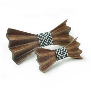 Галстук-бабочка для мальчиков и девочек; Детские деревянные галстуки-бабочки; Маленький размер; Галстук-бабочка для школьников; Галстук-баб...