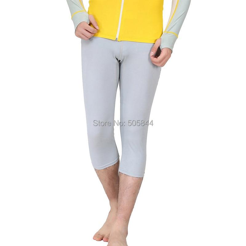Мужской гидрокостюм для подводного плавания, укороченные брюки для подводного плавания, спортивные штаны для йоги fitnell