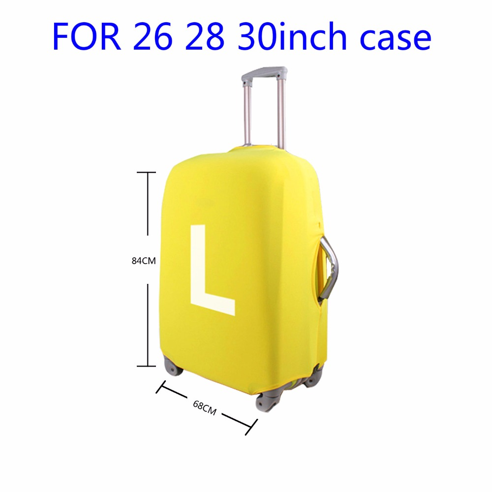 FORUDESIGNS Thick Luggage Protective Cover Waterproof Anti-dust Suitcase Cover For 18-30inch Trunck Case Travel Accessories 2017