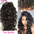 7A Cheap Brazilian Hair Wigs Lace Frontal Wig Human Hair Wigs For Black Women Loose Wave Glueless Full Lace Wigs With Baby Hair