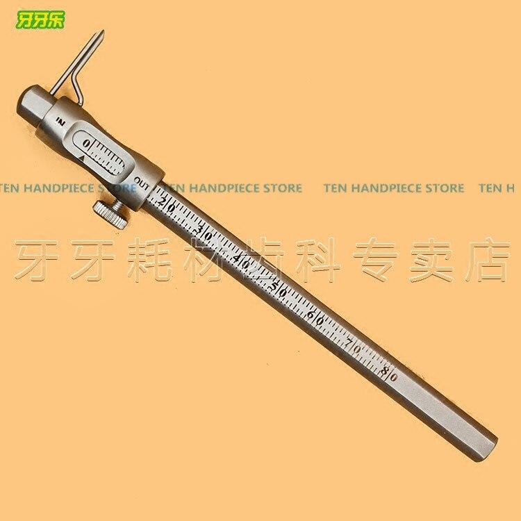 2018 bonne qualité dentaire implant dent mesure étriers os crête épaisseur stylo règle de mesure