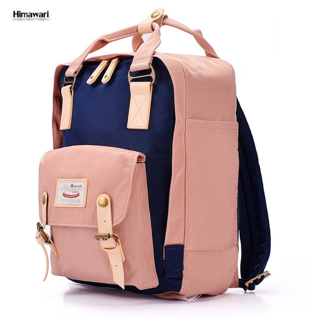 Himawari Brand 2017 New Macaron Style Cute Nylon School backpack ...