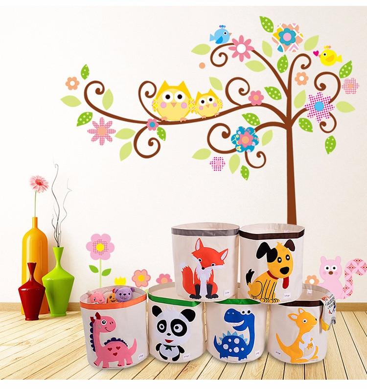 Kid's Cartoon Toy Storage Folding Basket 2