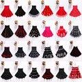 2-13Y Menina Saia de Tricô Outono Inverno Partido Tutu Meninas Saias Faldas Saias Crianças Pettiskirt Da Princesa Roupa Dos Miúdos Bonitos