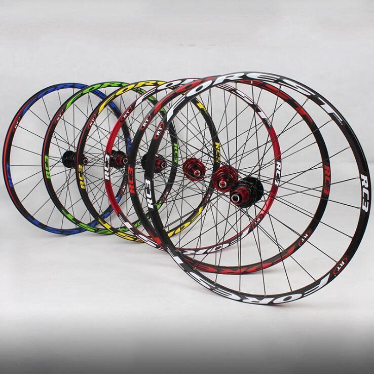 RT RC3 120 som Ultra light 5 rolamento 26 polegada rodas da bicicleta de montanha rodado freio a disco de bicicleta