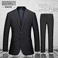 2016 new men's suits career suits groom wedding dress business casual suit piece suit