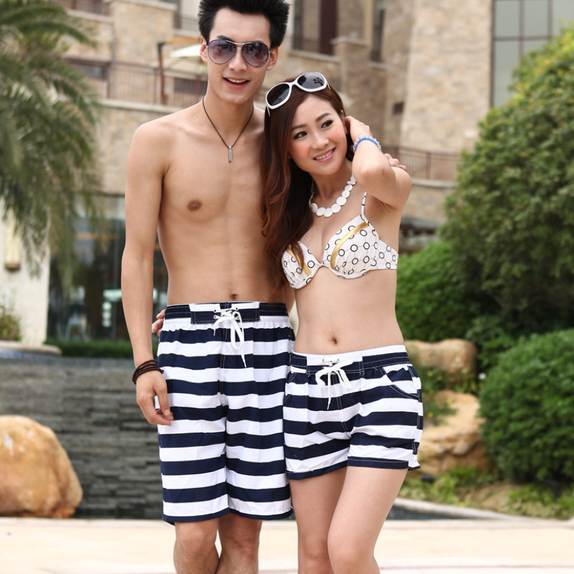 Aliexpress of high sales of beach pants Lovers beach pants The hot pants quick drying fabric