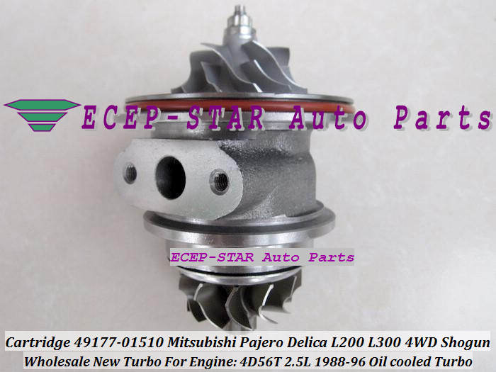 TURBO CHRA Cartridge Oil Cool TD04 49177-01510 49177 01510 4917701510 MD168054 For Mitsubishi Shogun Pajero L200 L300 4D56 2.5L