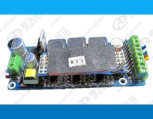 DMX constant current decoder & driver;DC48V input;RGB*12*1W/320ma output;can driver 12pcs 3W RGB LED