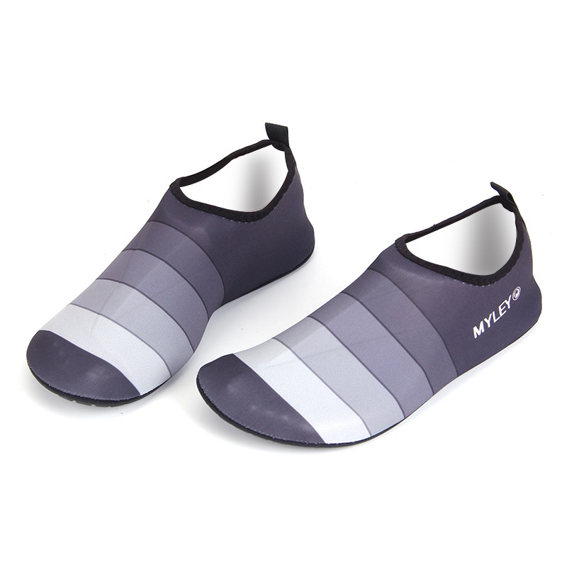 Yoga And Shoes: Men Women Couple Water Shoes Men Striped Beach Pool Dance