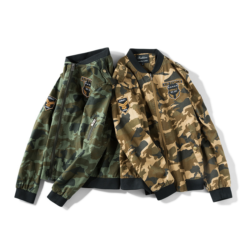 Military Pilot Jackets Men Winter Autumn Bomber Cotton Coat Male Casual Tactical Camouflage Air Force Flight Jacket