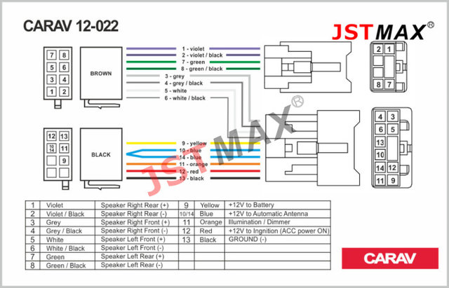 online shop jstmax iso radio plug for toyota lexus daihatsu wiring rh m aliexpress com Automotive Wiring Harness Truck Wiring Harness