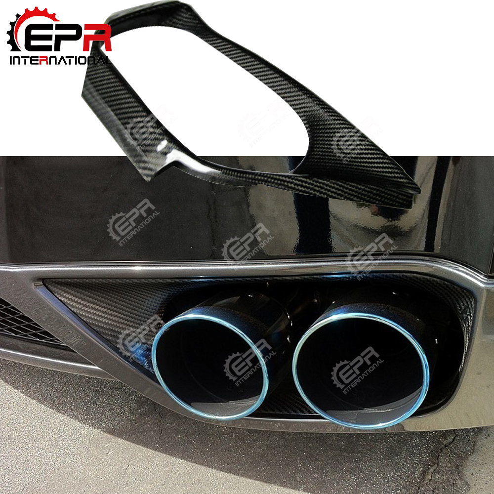 For Nissan R35 GTR Carbon Fiber Exhaust Suround GTR Surround CF Body Kit Car Styling Parts For R35 GTR OEM StyleFor Nissan R35 GTR Carbon Fiber Exhaust Suround GTR Surround CF Body Kit Car Styling Parts For R35 GTR OEM Style