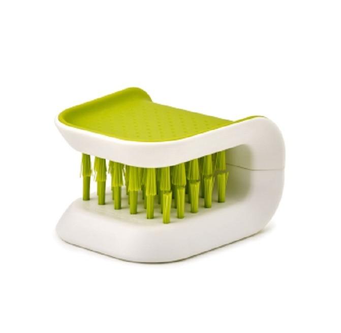 BladeBrush Knife and Cutlery Kitchen Cleaner Brush Bristle Blade Scrub Kit 3