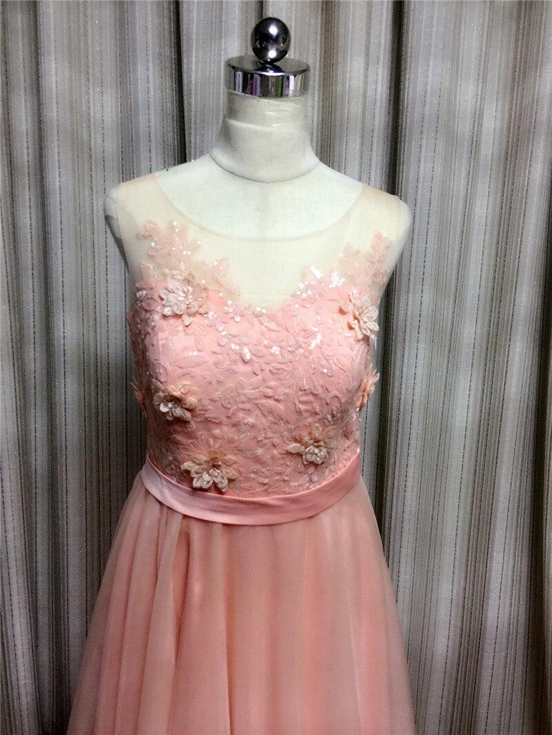 Compras baratas Gardlilac foto real vestido de dama de honor Rosa ...