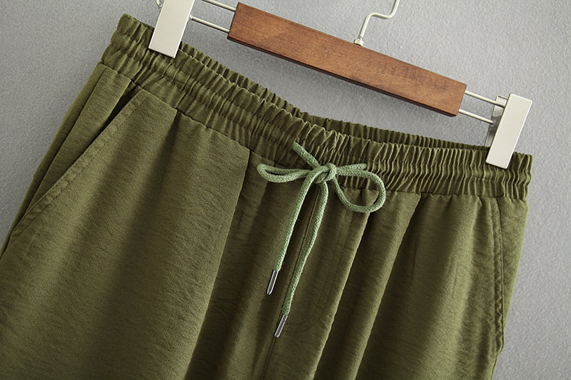 ca4e396a237 Army Green Cargo Pants Women Plus Size 3 4 XL Casual Loose Pockets Pants  Black Trousers KKFY2096-in Pants   Capris from Women s Clothing on  Aliexpress.com ...
