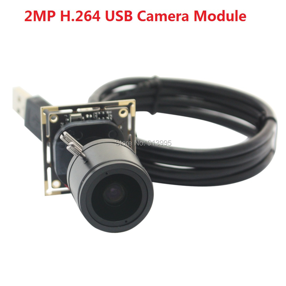 2MP H.264 MJPEG/YUY2 30fps hd CMOS AR0330 2.8-12mm varifocal Lens Android/Linux/Windows industrial Camera Module with Microphone
