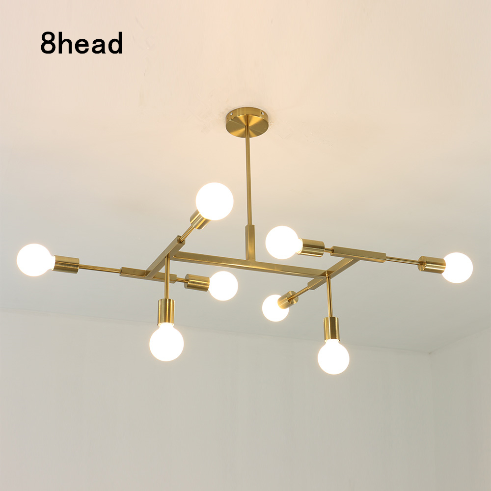 Hanglampen Voor Eetkamer Us 89 99 30 Off Pendant Lights Nordic Modern Gold Led Bedroom Dinning Room Kitchen Hanglampen Voor Eetkamer E27 Led Lamp Edison Light Bulb In