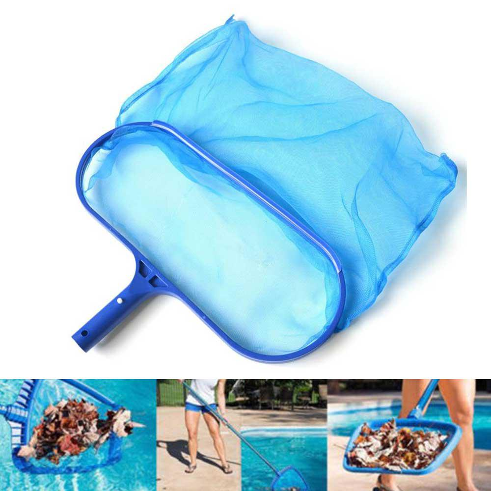 Swimming Pools Skimmer Net Rubbish Cleaning Rake Leaf Mesh Deep Bag Net Mesh Deep Bag Net Salvage Swimming Pool Accessories