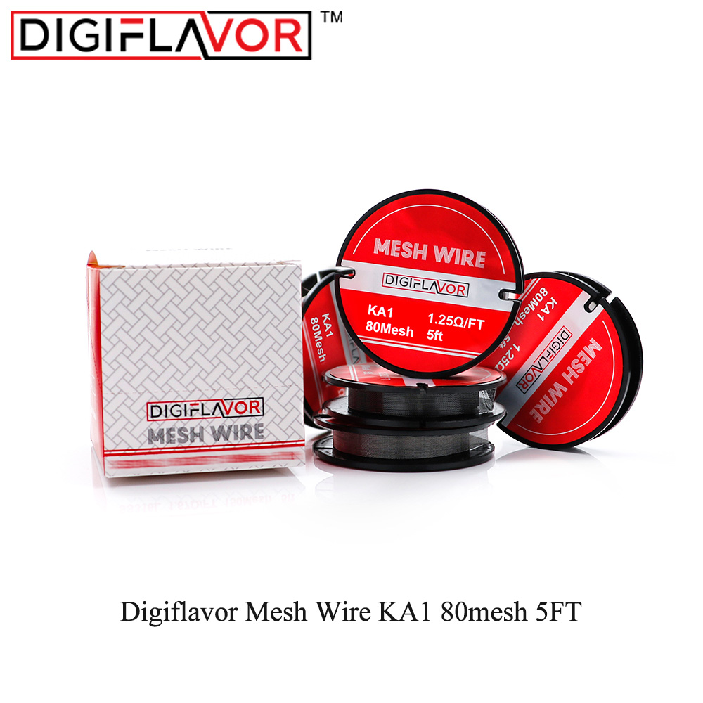 Digiflavor Mesh Wire KA1 80mesh 5FT Mesh Coils For DIY Vaporizer Electronic Cigarette Accessory