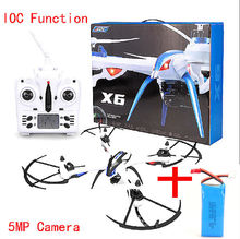 Free Shipping! JJRC H16 Tarantula X6 drone 4CH RC Quadcopter Wide-Angle 5MP Cam IOC +1 Battery