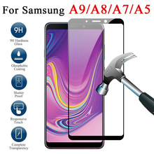 Protective glass on the for samsung galaxy a9 star a8 a7 a6 a5 plus 2018 2017 samsyng screenprotector 9a 8a 5a a 9 5 tremp glas(China)