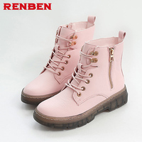 Fashion Women Boots High Heels Ankle Boots Platform Shoes Brand Women Shoes Autumn Winter Botas Mujer
