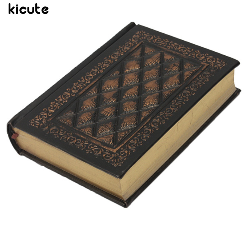 Kicute 1pc New Classic Retro Notebooks Embossed Plaid PU Leather Framed Notebook Agenda Diary Journal Office School Supplies genuine leather notebook travelers journal agenda handmade planner notebooks diary caderno sketchbook school supplies