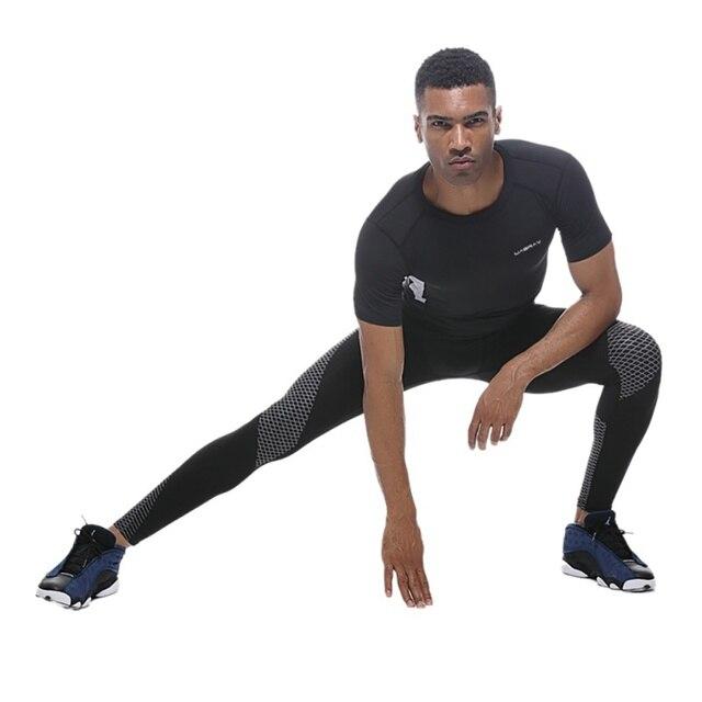 64a9b638eb00 2018 Running mallas Leggings de deporte ropa deportiva pantalones de ...
