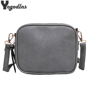2020 New Women Bag Scrub Brief Vintage Bag Mini Women's Pouch Bag Girls Messenger Bag Female Crossbody Shoulder Bag