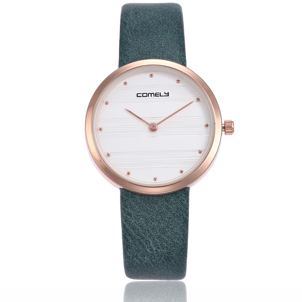 2018 High Quality women fashion casual watch luxury dress ladies quartz watch Analog Leather Women Gift Women Watches Clock