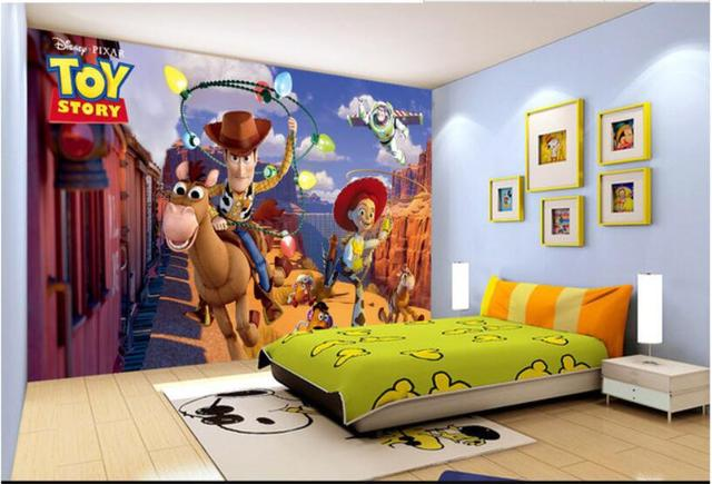 Toy Story creative 3D stereo TV background wall decorative painting
