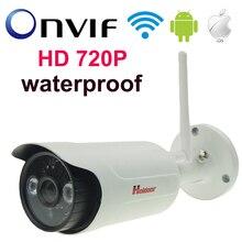 Мини Система ВИДЕОНАБЛЮДЕНИЯ Ip-камера Открытый Wi-Fi 720 P Камеры Безопасности водонепроницаемый Пуля IP Камера Хорошее Качество HD Камера с TF слот