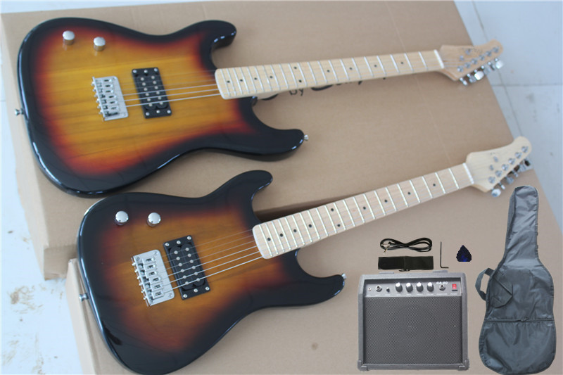 special price factory custom children normal left handed electric guitar with bag audio the. Black Bedroom Furniture Sets. Home Design Ideas