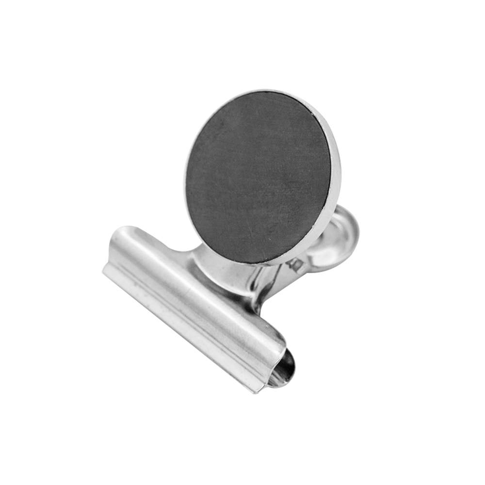 Magnetclip 35 mm silber 3St