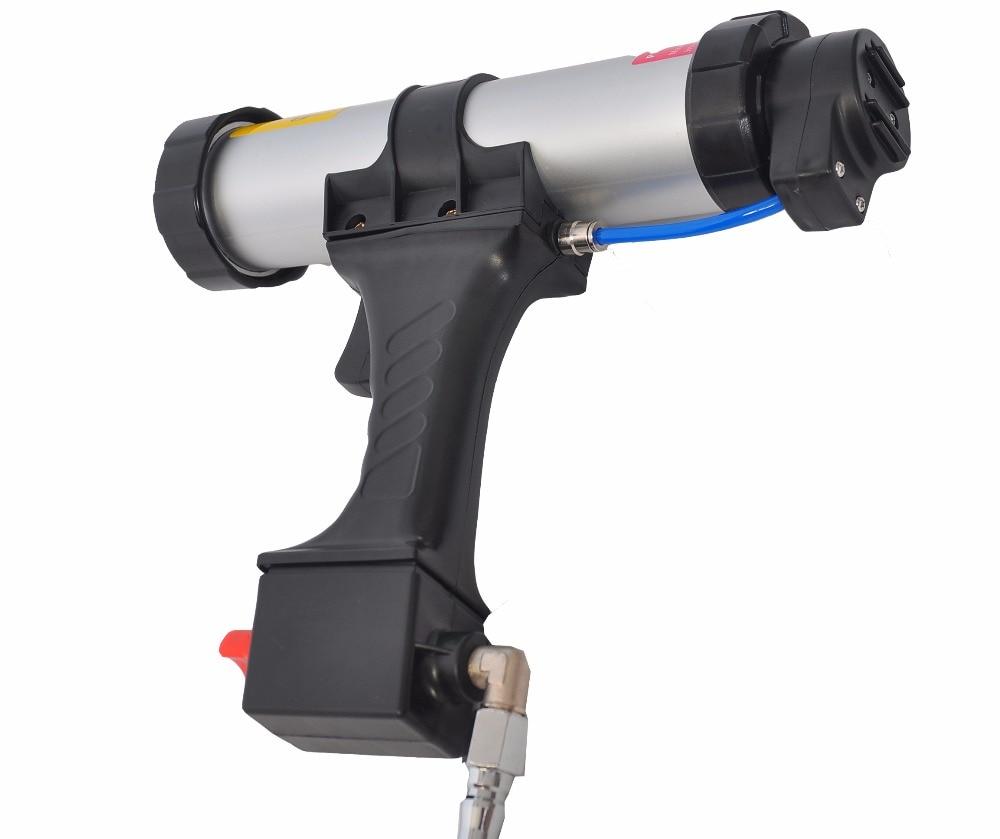 Pistola per silicone per sigillatura pneumatica 310 ml 10,3 oz Soft - Strumenti di costruzione - Fotografia 3