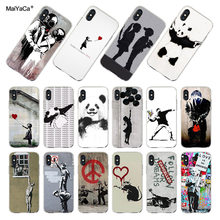 banksy iphone xs case