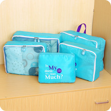 5pcs/lot Travel Bag Waterproof Clothes Multi-functional Suitcase Underwear Storage Hot Sale