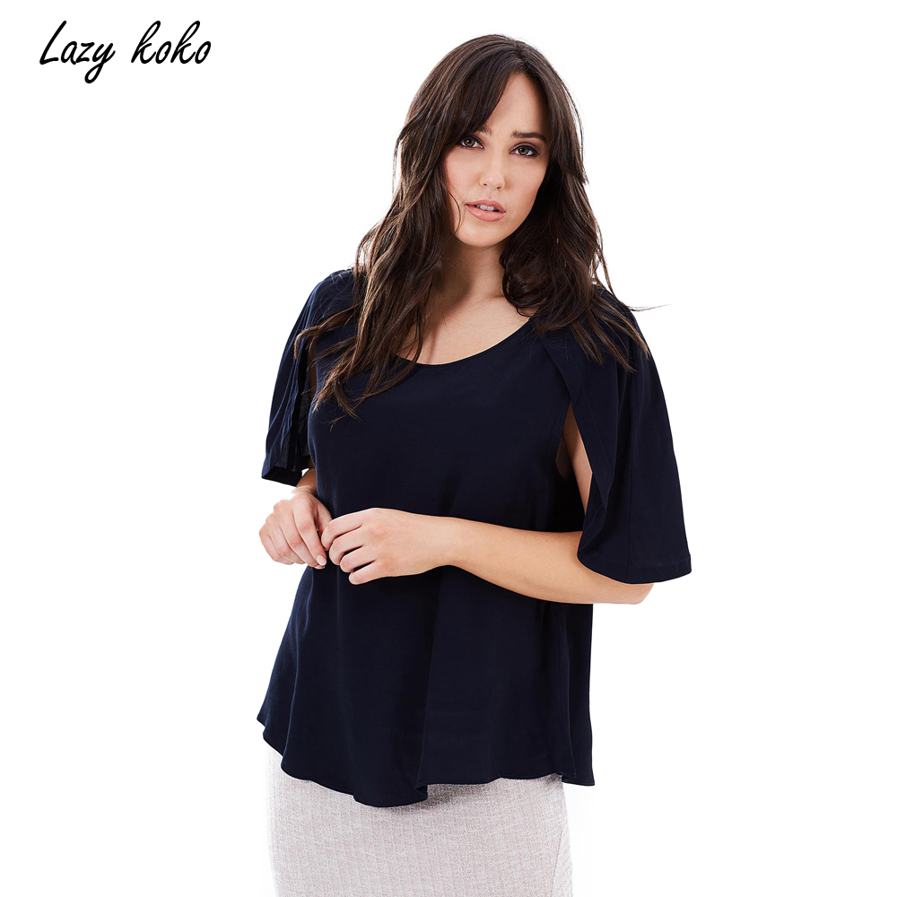 Lazy KoKo 2017 Plus Size New Fashion Women Clothing Casual ...