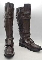MovieCoser High Quality Custom Made Star Wars Anakin Skywalke Cosplay Shoes