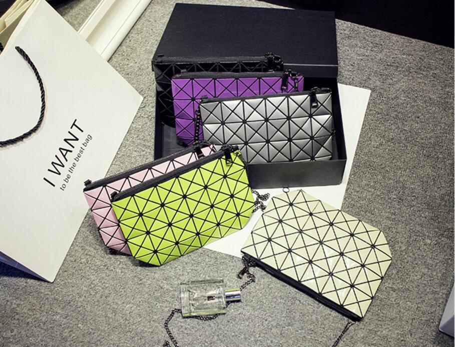 18 Famous Bao Bags Women Geometric Lingge Envelope Handbag Small Chain Clutch Ladies Shoulder Bags Messenger Bag Bao Bolsa 8