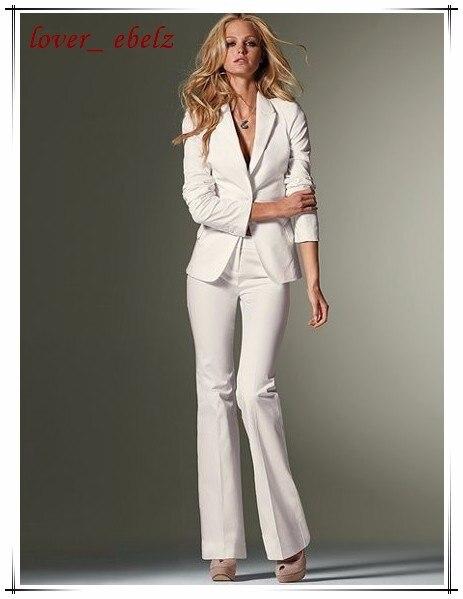 83daf7493581 (Jacket+Pants) Spring 2016 Women Slim Pant Suits Formal White Purple Black  Office Lady Work Business Career Suit Custm 3XS-7XL