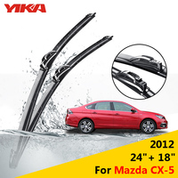YIKA 24 18 For Mazda CX 5 2012 Windscreen Wipers Car Glass Wiper Rubber Windshield Blades